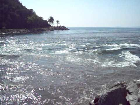 Tsunami mexico . .. Barra de Navidad Jalisco 1