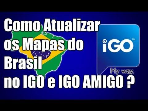 Como Atualizar os Mapas do Brasil no IGO e IGO AMIGO ? - 2013