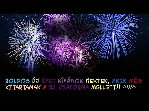 Szilveszteri tűzijáték 2019|2020 - Boldog Új Évet Nektek!