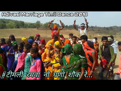 Timli Ramwa No Ghano Sok Re O Chhori | Adivasi Marriage Timli Dance Video 2018