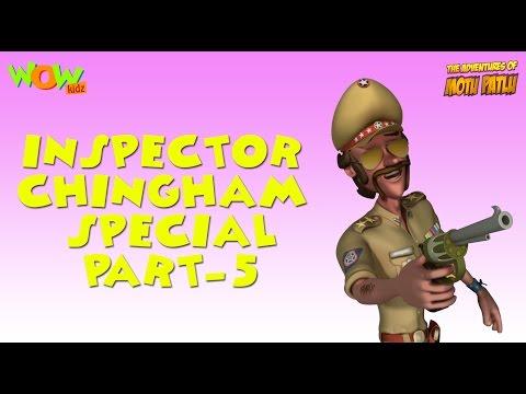 Inspector Chingam Special - Motu Patlu Compilation Part 5 - 30 Minutes of Fun! thumbnail