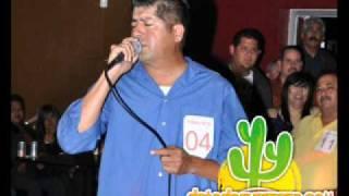 Martin Warner - Final primer concurso de aficionados al karaoke Detodoguerrero.com
