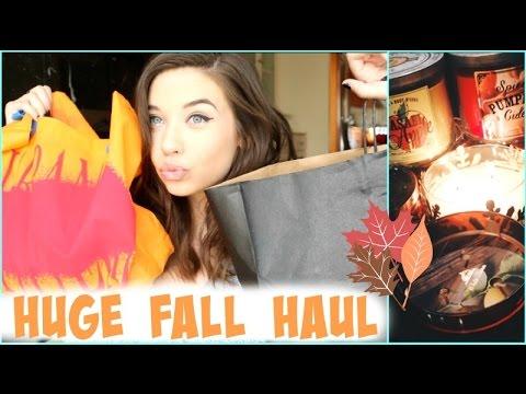 Huge Fall Haul 2014!    Brandy, Urban Outfitters, Bath + Body Works