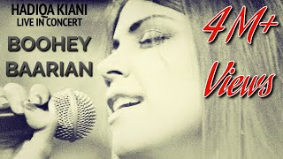Boohey Barian | Hadiqa Kiani | Live in Concert | Virsa Heritage Revived | Official Video
