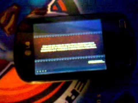 Demostracion de juegos 3D en LG Optimus ME P350 en Español