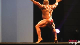 Arnold Classic Europe 2013   Fred Smalls posing routine