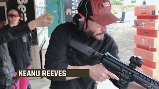 John Wick 2 Firearms Training with Keanu Reeves & Taran Tactical | 5.11 Tactical