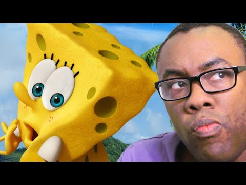 SPONGEBOB Sponge Out of Water Reaction : Black Nerd