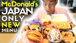 How McDonald's Japan Only Fast Food Menu is Insanely Unique!