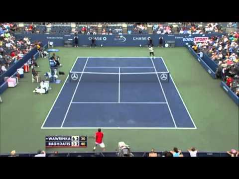 Stanislas Wawrinka - Incredible US Open 2013