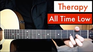 download lagu All Time Low - Therapy  Guitar Lesson Tutorial gratis