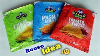 WOW !! Best Reuse Idea Out Of Waste Wrapper   DIY Room Decor Idea/ Handmade Craft   Waste mathi best