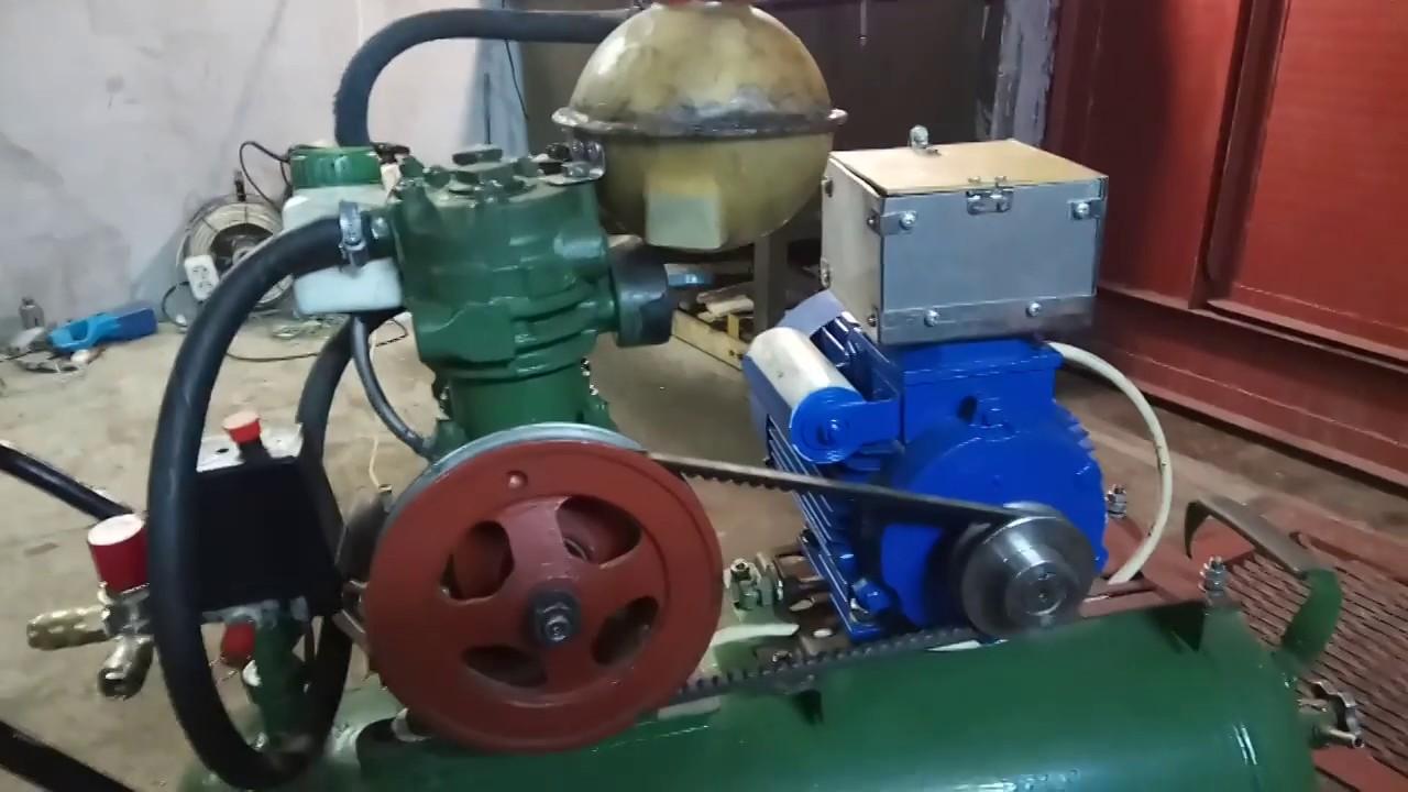 Доработка компрессор своими руками зил 130