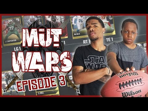 PACK STEALING MINI GAME! - Madden 17 Mut Wars Ep.3