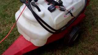 Product Review - Fimco 12 Volt Sprayer And Trailer