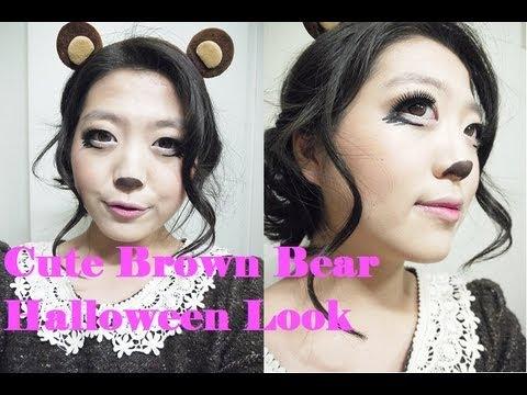 Bear Halloween Makeup