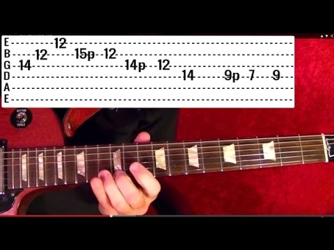 Lesson Guitar - Classic Rock Riffs