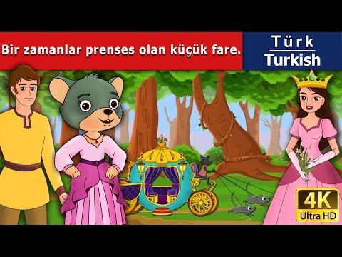 Bir zamanlar prenses olan küçük fare - Masal - çoçuk masalları dinle - 4K UHD -Türkçe peri masalları