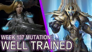 Starcraft II: Well Trained [How to fight Skytoss]