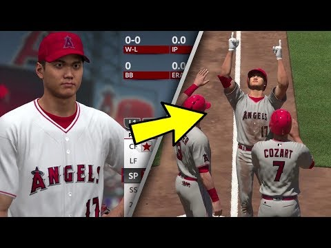 Shohei Ohtani Gameplay in MLB The Show 18