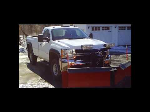 2009 Chevrolet 2500HD Plow Truck 4x4 V8 6.0L VIDEO!