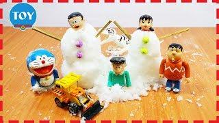 Đồ chơi Doremon -  biến Nobita Xuka thành người tuyết nhân tạo