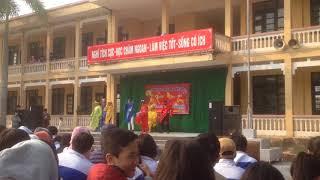 Gặp nhau cuối năm trường THCS Nguyễn Du