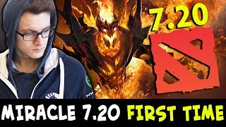 Download Lagu Miracle 7.20 FIRST GAME — Shadow Fiend CURES 7.19 CANCER Zeus Gratis STAFABAND