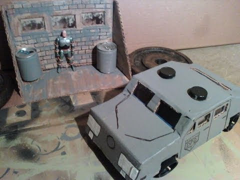 KENNER ROBOCOP TOY. ULTRA POLICE. MURPHY DEATH SCENE. STOP MOTION. DOSE IT HURT!!