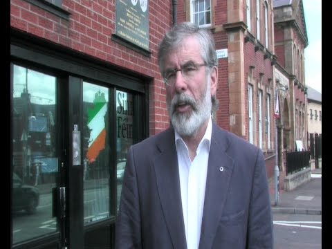 Irish Government stance on Gaza 'shamefully silent' - Adams
