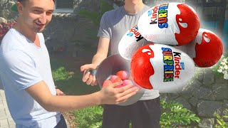 SURPRISE EGG OPENING CHALLENGE