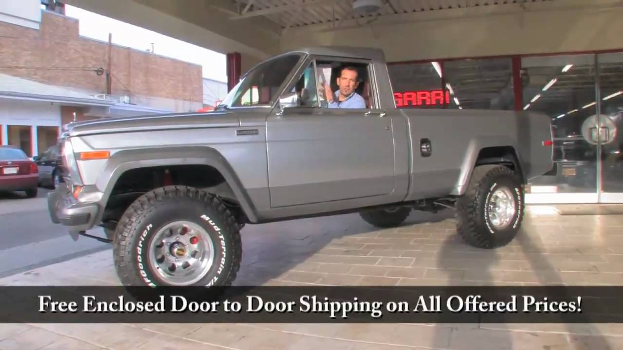 1981 Jeep J 20 For Sale With Test Drive Driving Sounds
