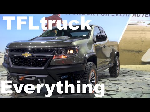 Ultimate Off-Road Chevy Colorado ZR2 Diesel Concept: Everything You Ever Wanted to Know