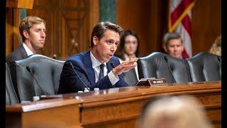 Senator Hawley Grills Google Exec During Judiciary Committee Hearing
