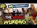 THE SAVAGE WUKONG!! LANDING RANDOM PLACES | FORTNITE BATTLE ROYALE MP3