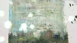 Exploring Abstract Painting class