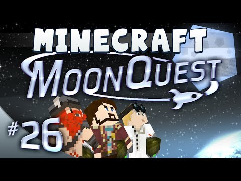 Minecraft Galacticraft - MoonQuest Episode 26 - Obsidian Pernus Land
