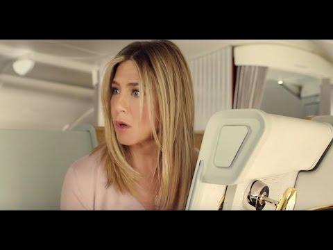 Дженнифер Энистон в рекламе A380 Emirates