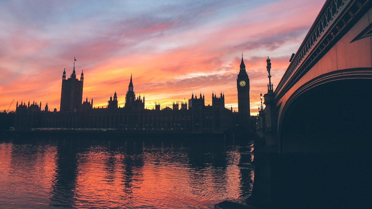 epic london sunset   youtube