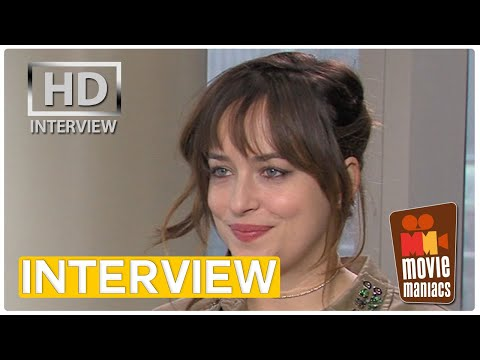 Dakota Johnson on Fifty Shades of Grey | Interview (2015)