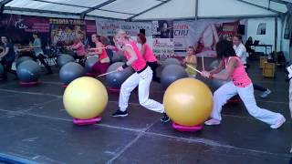 Drums Alive Wroclaw Move Poland - Akademia Fitness Planet - Kasia & Agnieszka Team