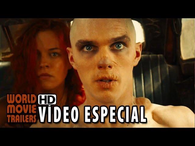 """Mad Max: Estrada da Fúria Vídeo Especial """"Nux"""" (2015) - Nicholas Hoult HD"""