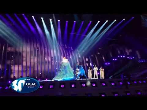 RUSSIA - Julia Samoylova - Jury Rehearsal - Eurovision 2018 - OGAE Greece