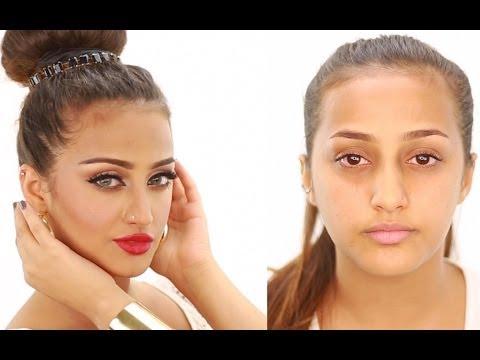 Aishwarya Rai Inspired makeup by hanan alnajadah حنان النجاده اشواريا راي مكياج