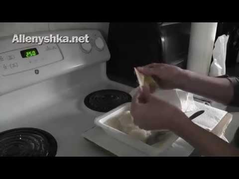 Как варить клейстер из муки - видео