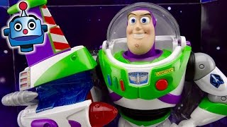Toy Story Turbo Buzz Lightyear figure 20th anniversary