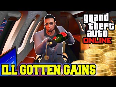 GTA 5 DLC - $10,000,000 ILL GOTTEN GAINS SPENDING SPREE - NEW CARS & GUNS DLC UPDATE GAMEPLAY!