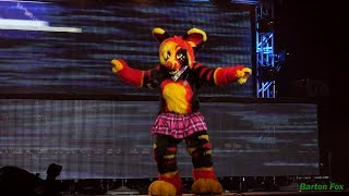 BLFC 2017 - Fursuit Dance Competition - Akki