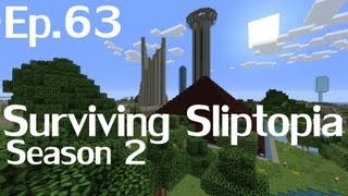 Surviving Sliptopia S2 Ep.63 - Sorting Stuff And Things! ( A Minecraft Let's Play )