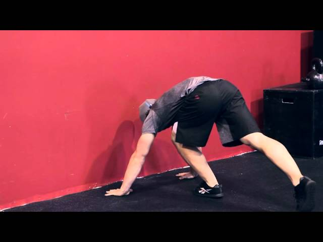 "Reebok CrossFit ONE Movement Demo ""Handstand Push-Up"""